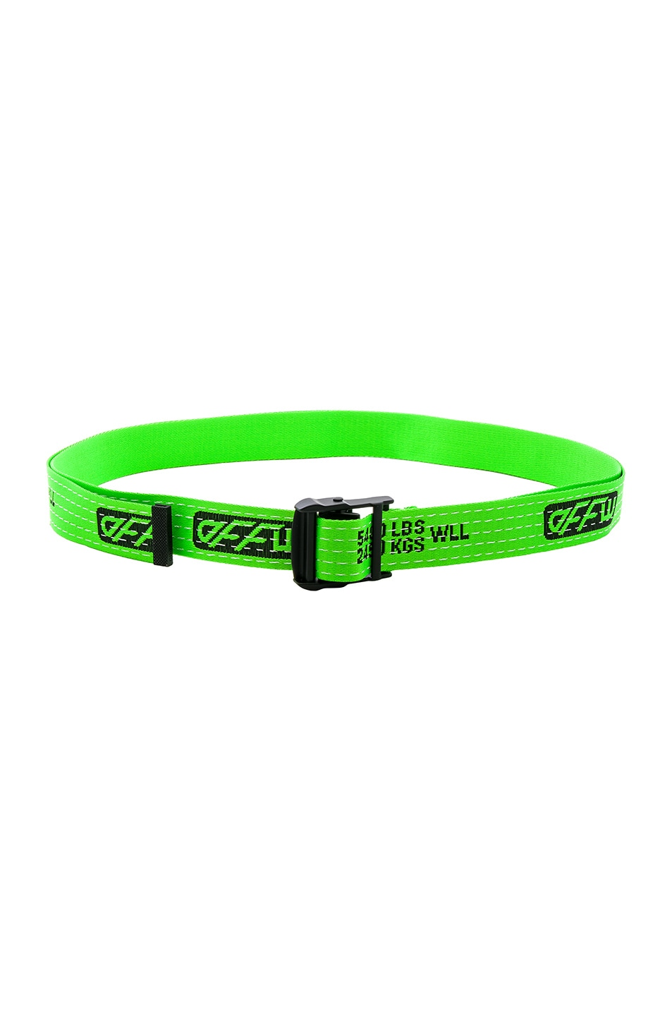 Image 2 of OFF-WHITE Industrial Belt in Light Green
