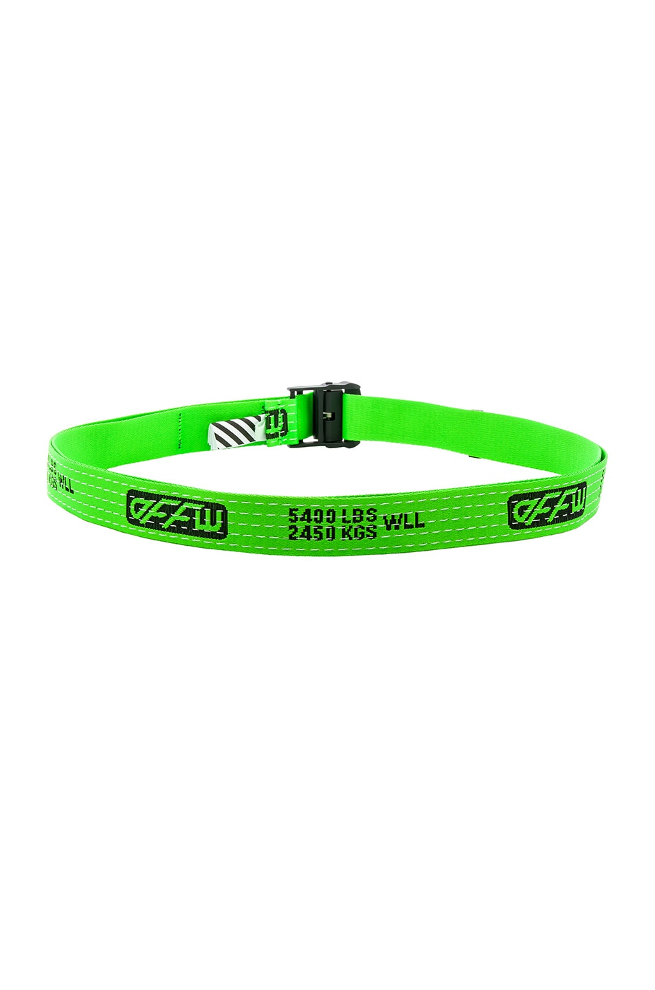 Image 3 of OFF-WHITE Industrial Belt in Light Green
