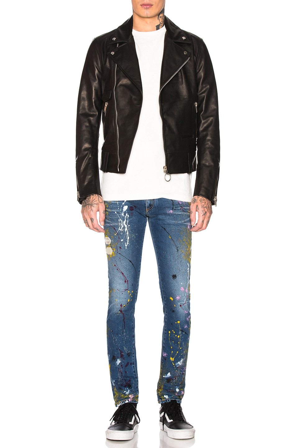 Image 4 of OFF-WHITE Skinny Jean in Vintage Paint