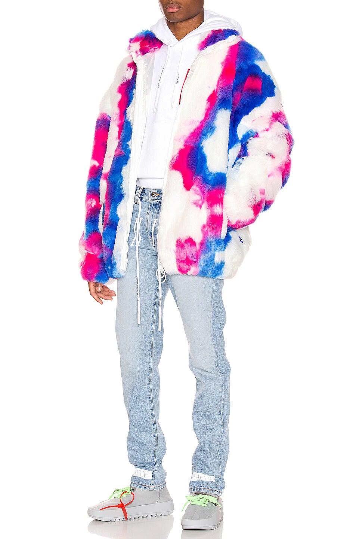Image 4 of OFF-WHITE Slim Denim Jean in Bleach Nikel