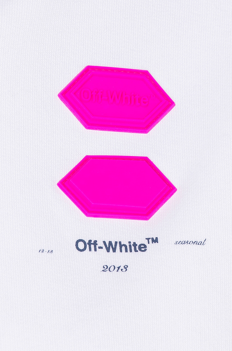 Image 7 of OFF-WHITE FWRD EXCLUSIVE Hooded Sweatshirt in White