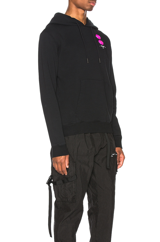 Image 2 of OFF-WHITE EXCLUSIVE Hooded Sweatshirt in Black