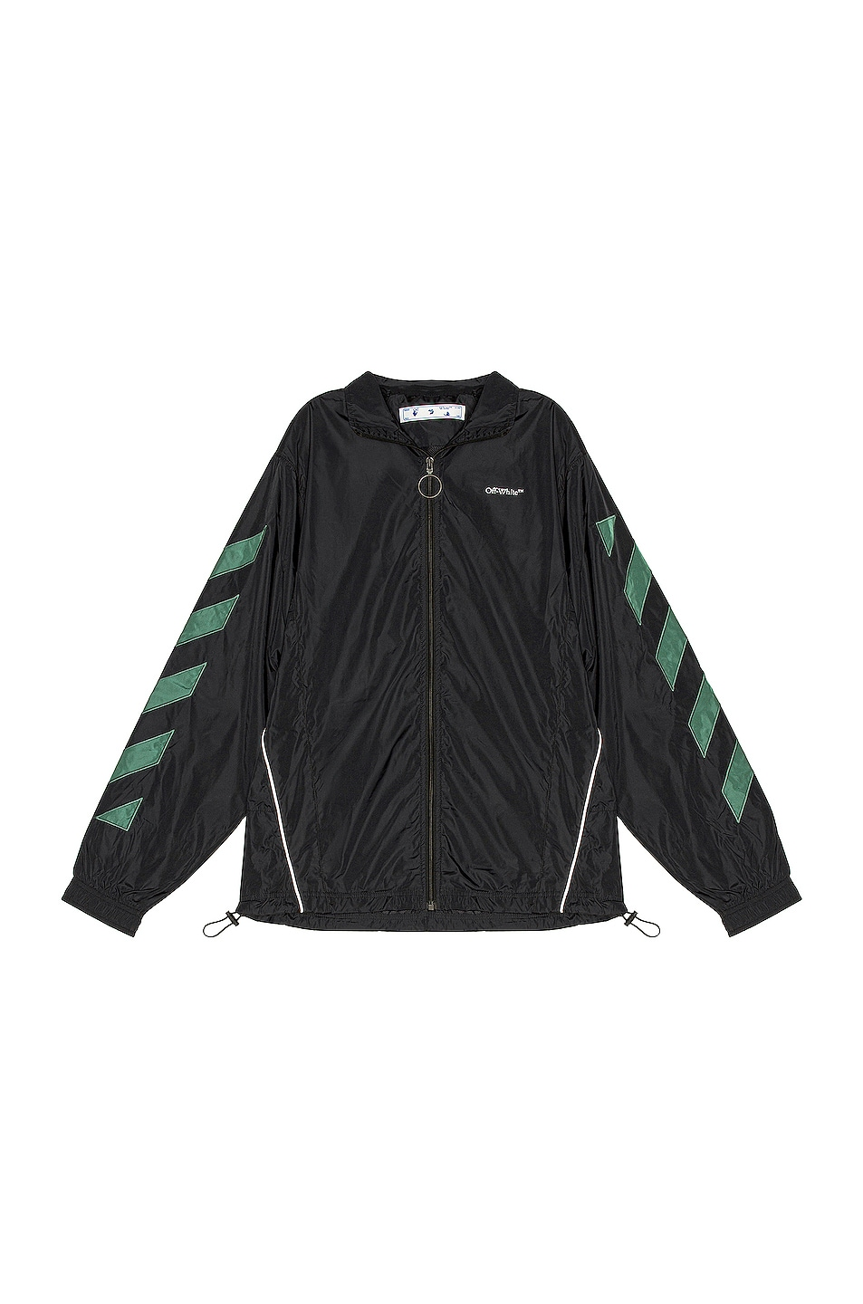 Image 1 of OFF-WHITE Diag Nylon Jacket in Black & White