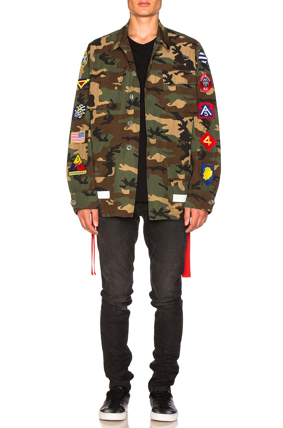 c3b1c7dcfa9f Image 6 of OFF-WHITE Archive Field Jacket in Camo   All Over White