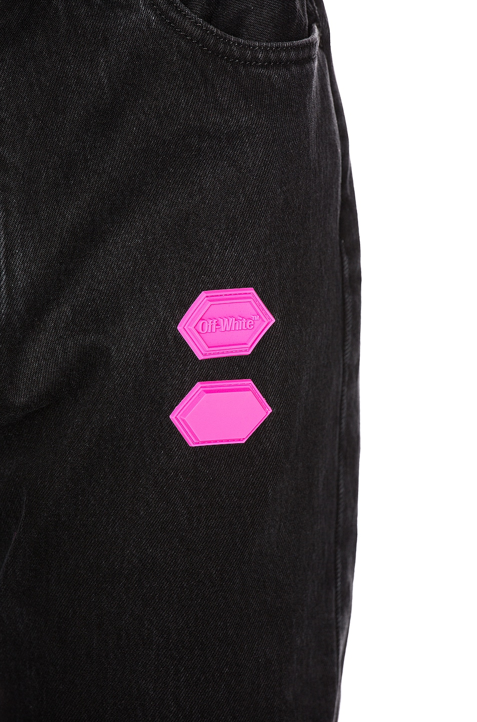 Image 7 of OFF-WHITE EXCLUSIVE Slim Low Crotch Pants in Black
