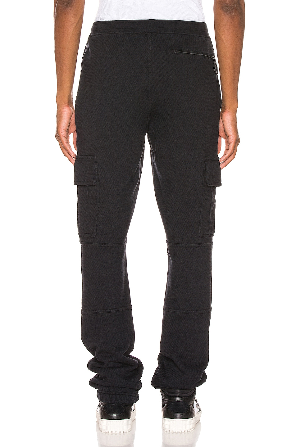 Image 3 of OFF-WHITE Cargo Sweatpants in Black