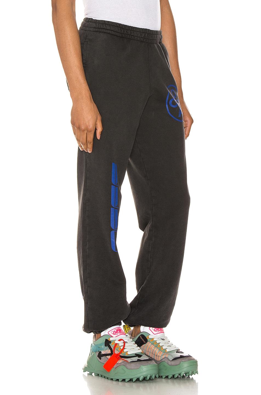 Image 2 of OFF-WHITE Hardcore Carvaggio Sweatpants in Black
