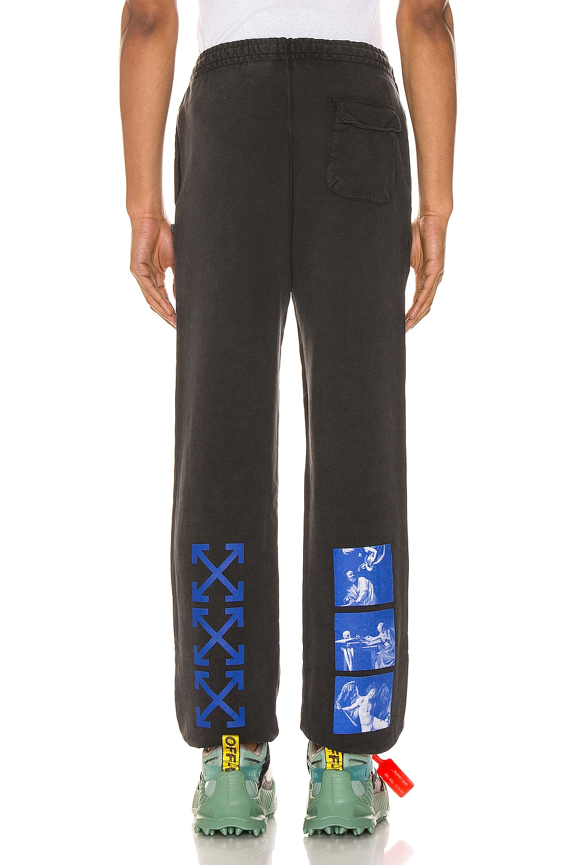 Image 4 of OFF-WHITE Hardcore Carvaggio Sweatpants in Black