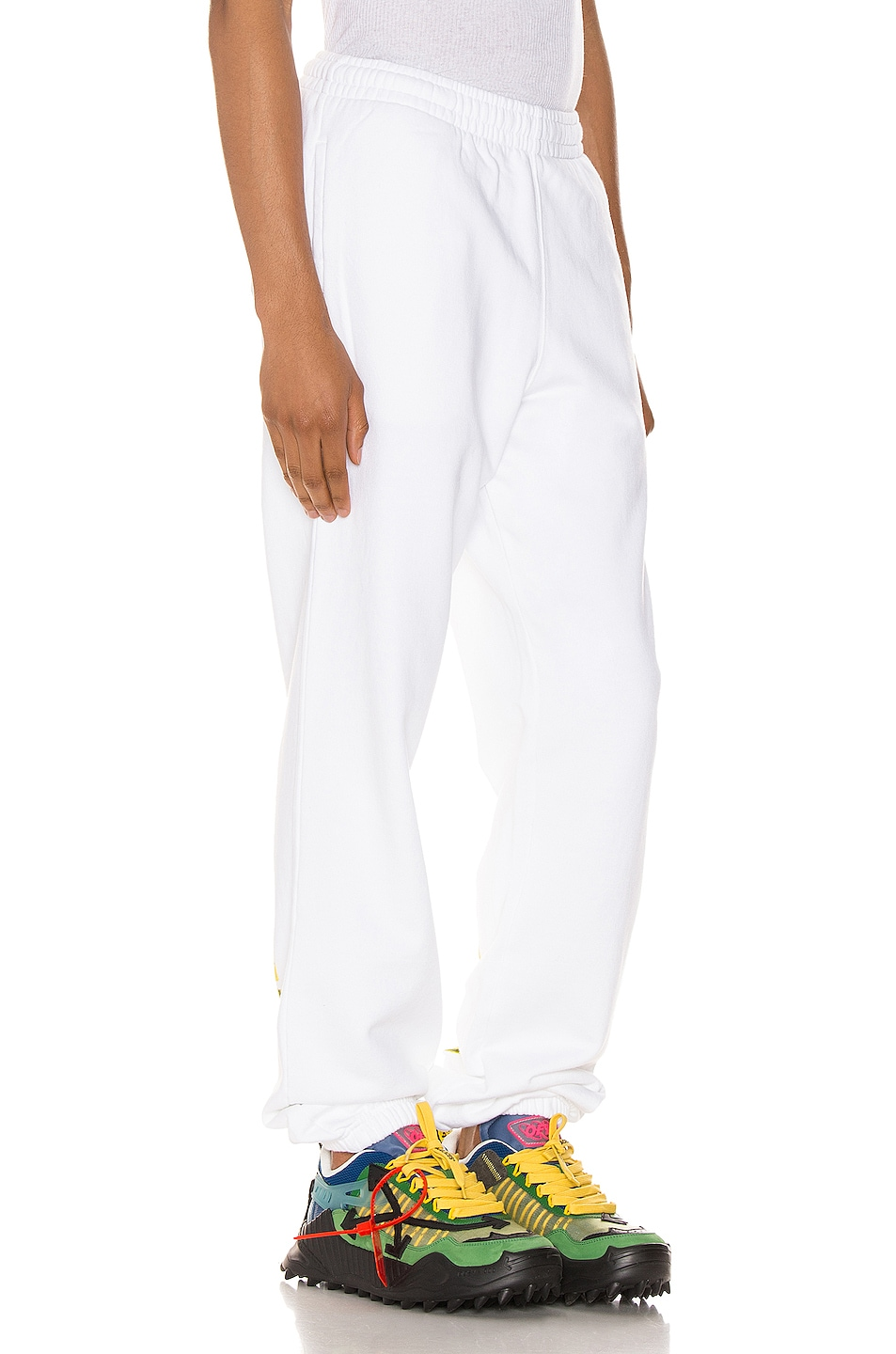 Image 3 of OFF-WHITE Acrylic Arrows Sweatpants in White