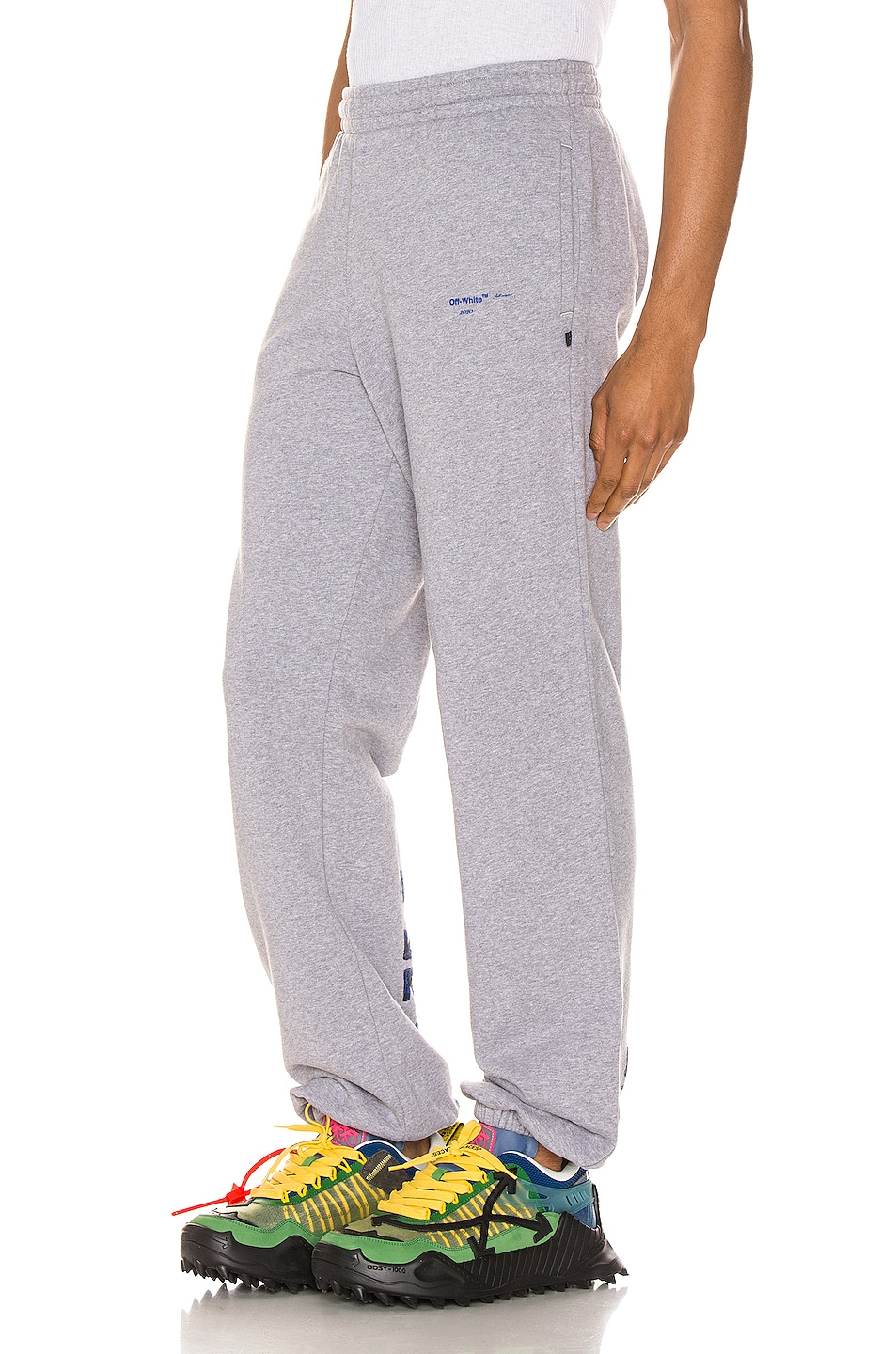 Image 4 of OFF-WHITE Acrylic Arrows Sweatpants in Grey
