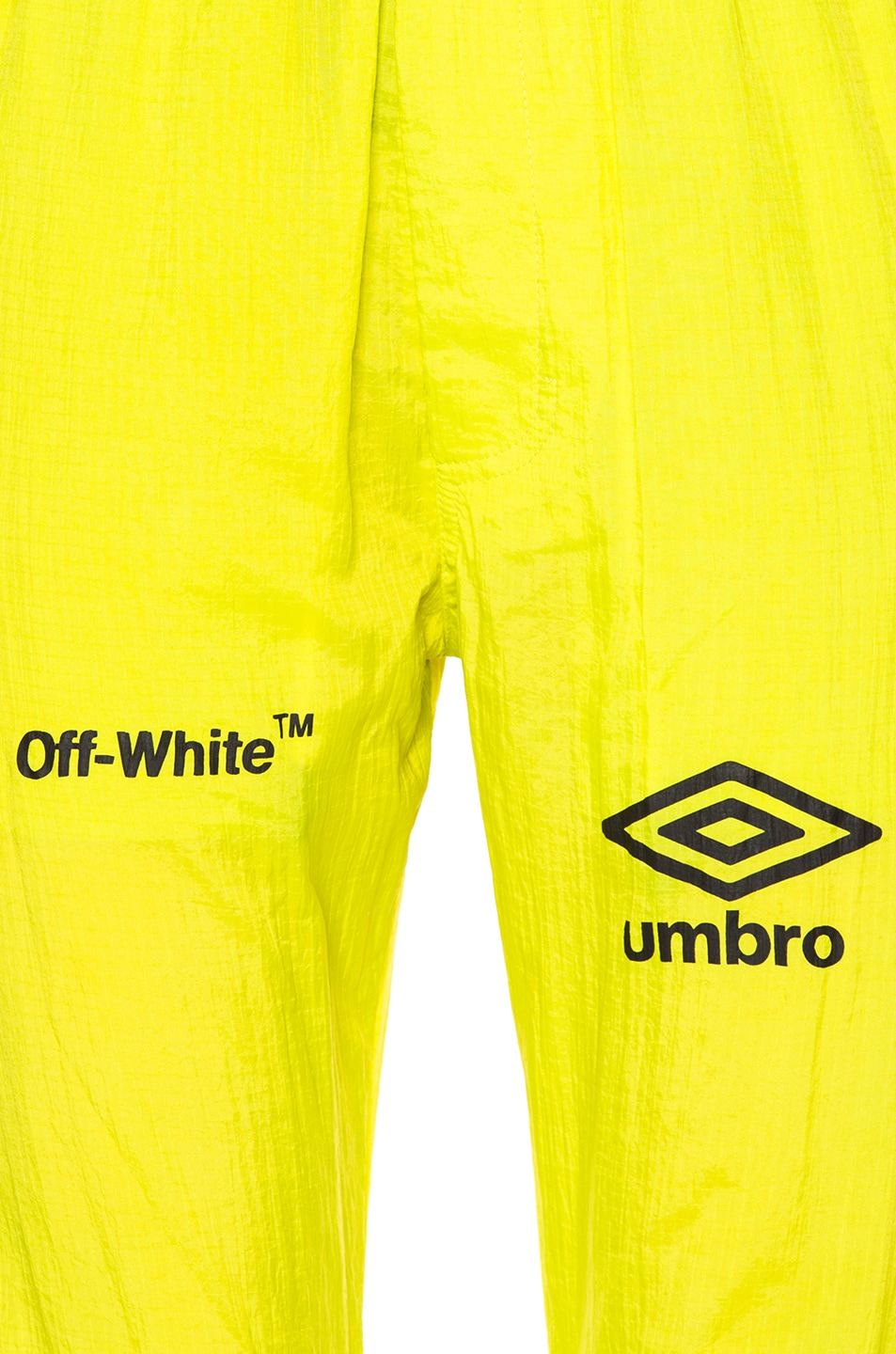 a227f2eb194 Image 6 of OFF-WHITE x Umbro Ripstop Pants in Brilliant Green & White