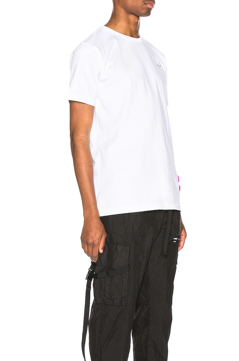 Image 2 of OFF-WHITE EXCLUSIVE Short Sleeve Tee in White