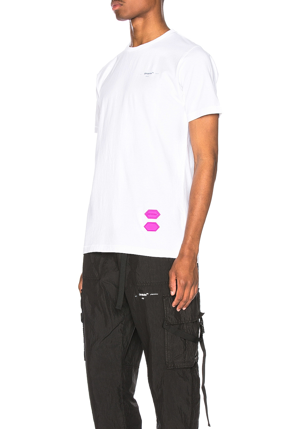 Image 3 of OFF-WHITE EXCLUSIVE Short Sleeve Tee in White