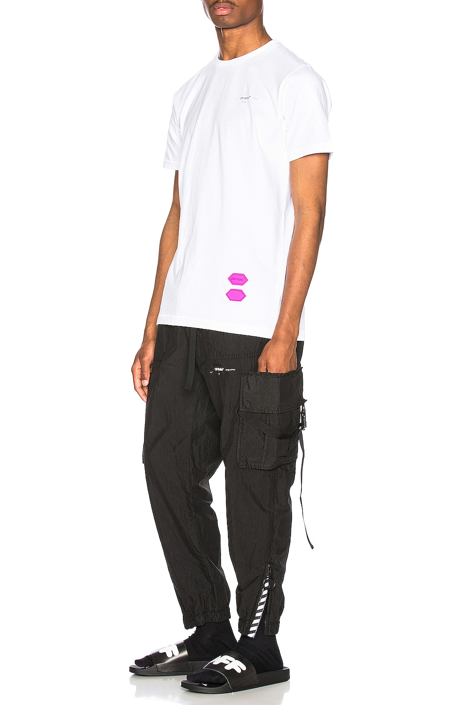 Image 5 of OFF-WHITE EXCLUSIVE Short Sleeve Tee in White
