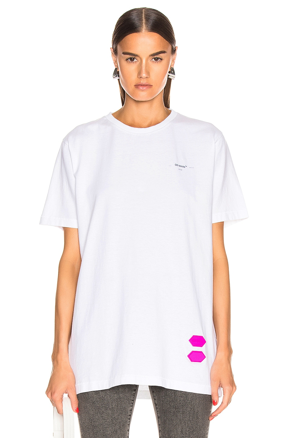 Image 1 of OFF-WHITE EXCLUSIVE Short Sleeve Tee in White