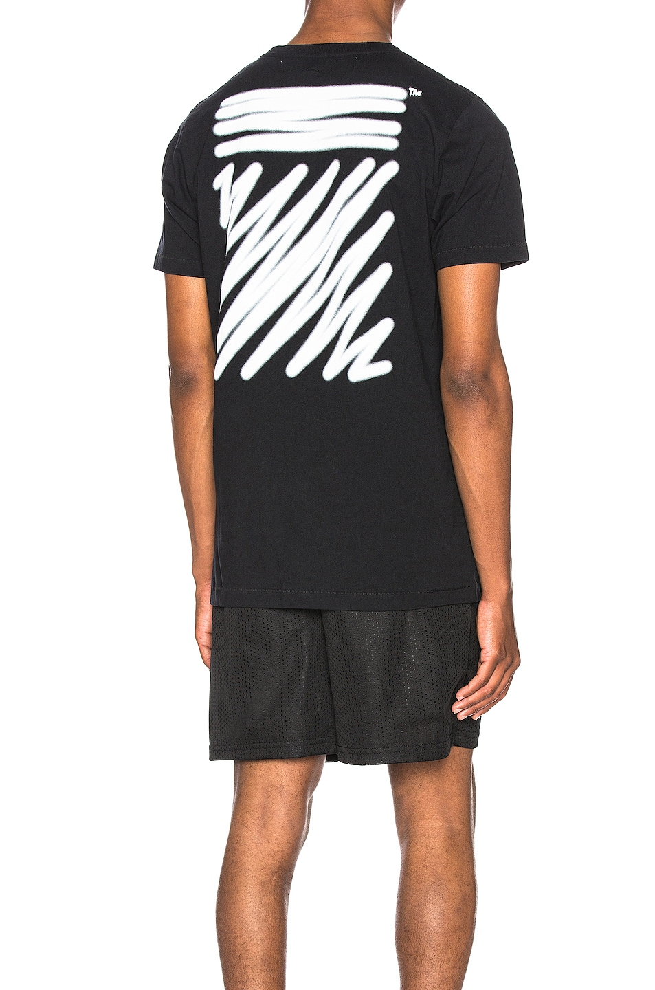 Image 1 of OFF-WHITE EXCLUSIVE Short Sleeve Tee in Black