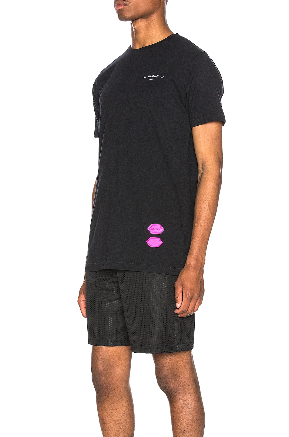 Image 4 of OFF-WHITE EXCLUSIVE Short Sleeve Tee in Black