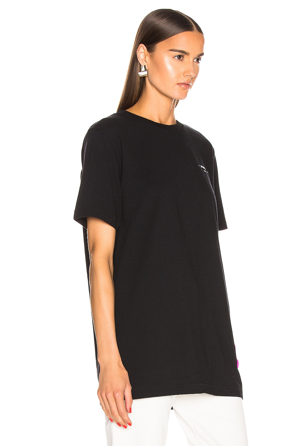 Image 3 of OFF-WHITE FWRD EXCLUSIVE Short Sleeve Tee in Black