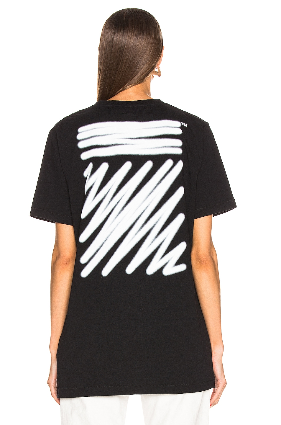 Image 5 of OFF-WHITE FWRD EXCLUSIVE Short Sleeve Tee in Black
