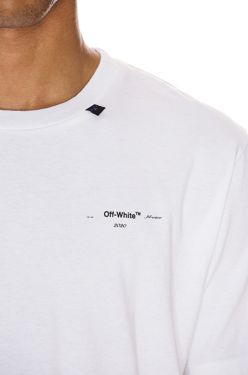 Image 6 of OFF-WHITE Abstract Arrows Tee in White & Black