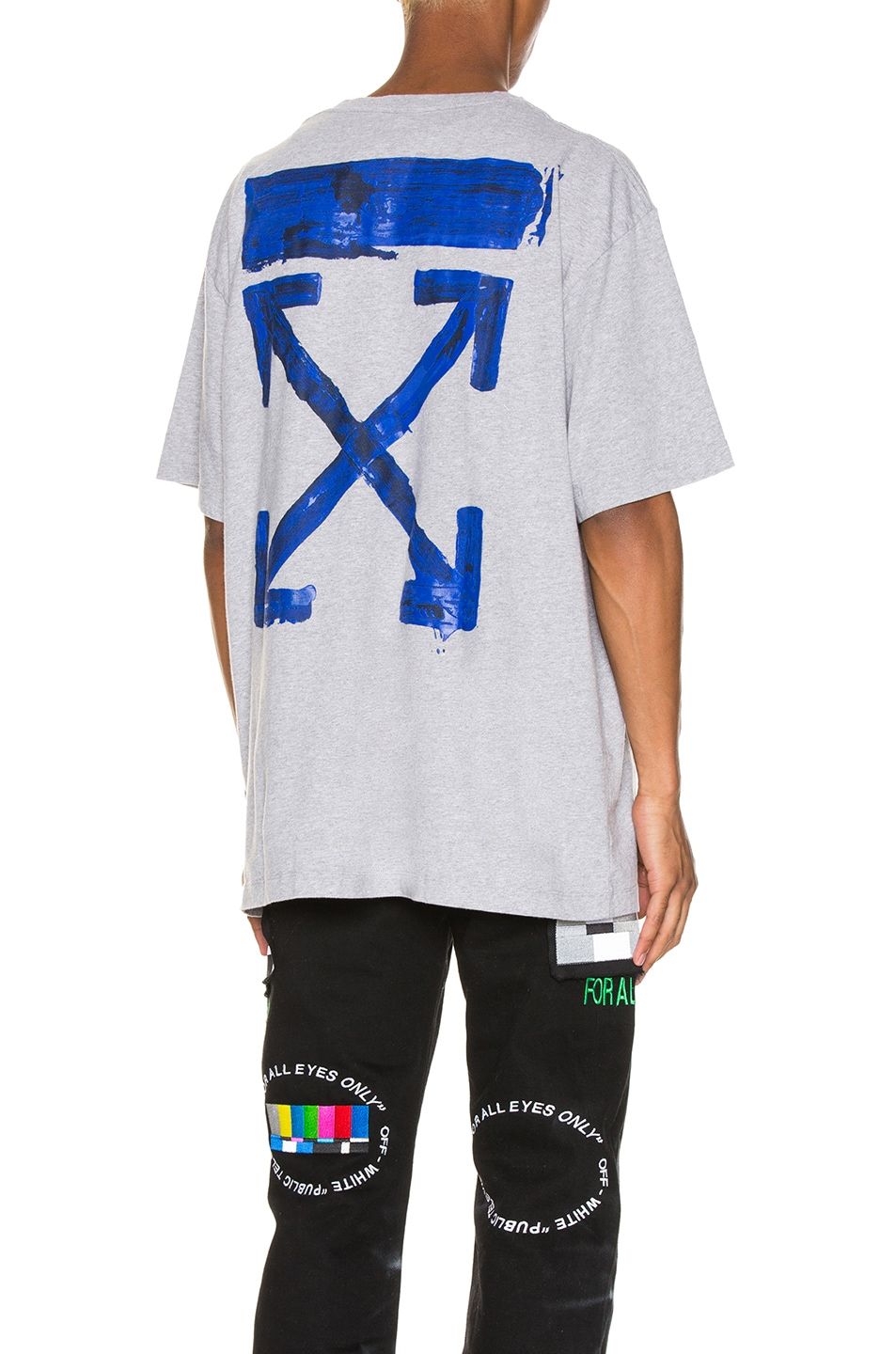 Image 1 of OFF-WHITE Acrylic Arrows Tee in Grey