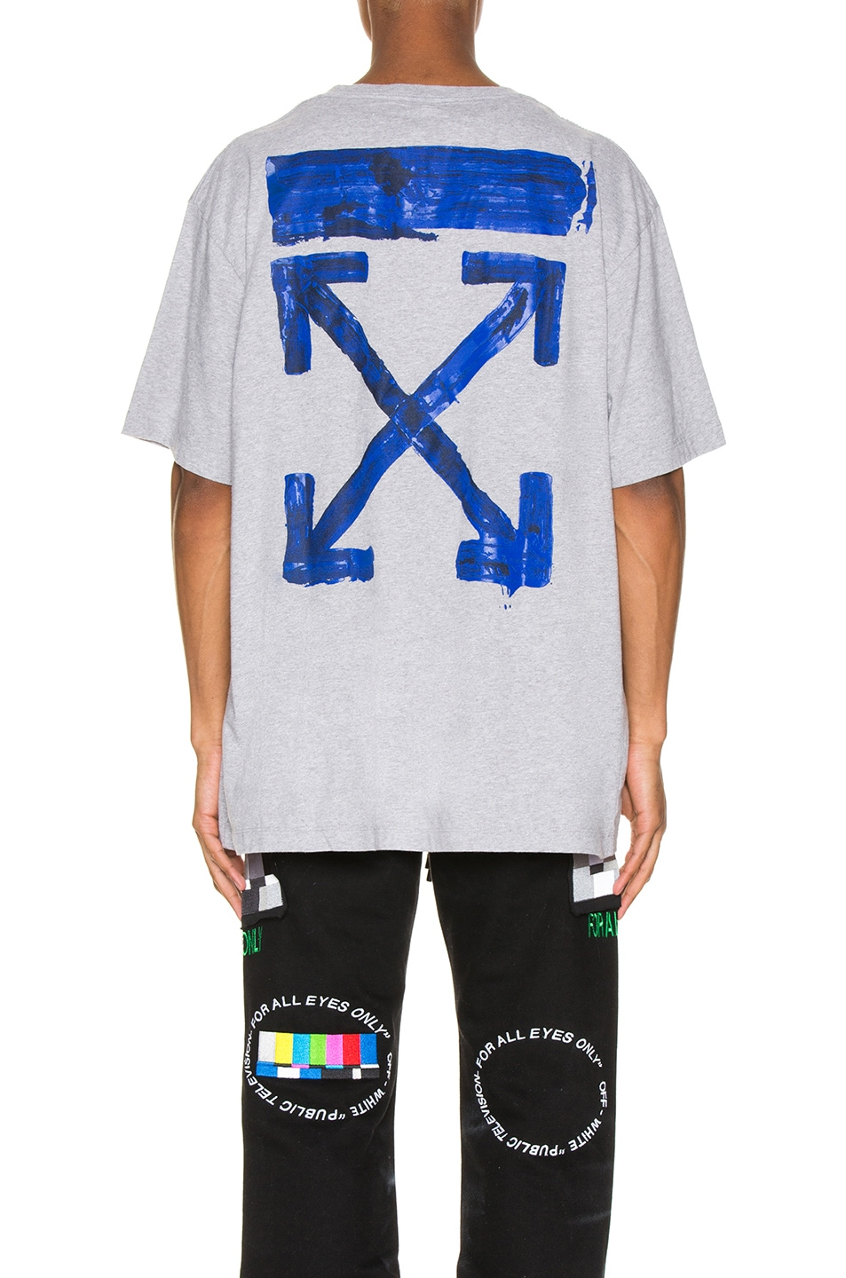 Image 5 of OFF-WHITE Acrylic Arrows Tee in Grey