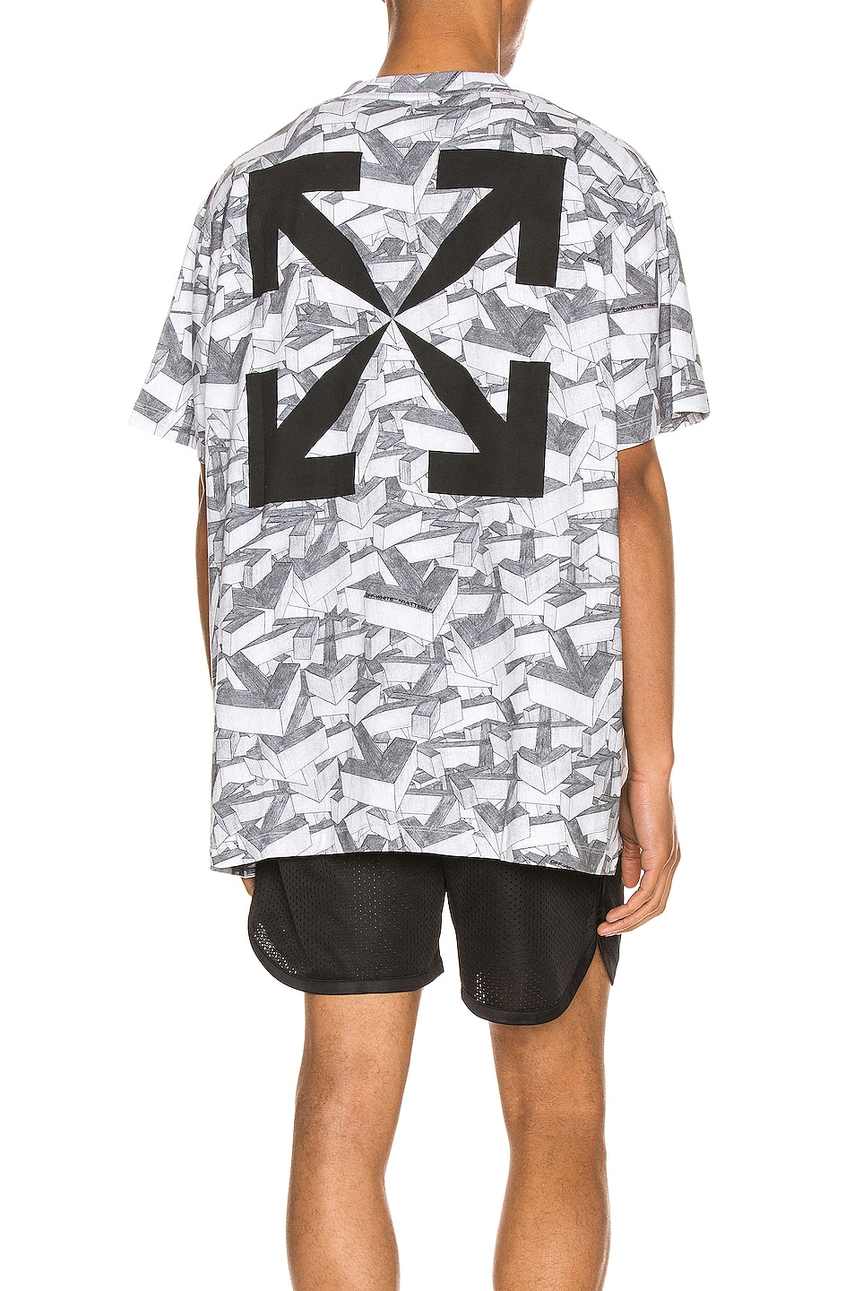 Image 1 of OFF-WHITE Arrows Pattern Over Tee in All Over