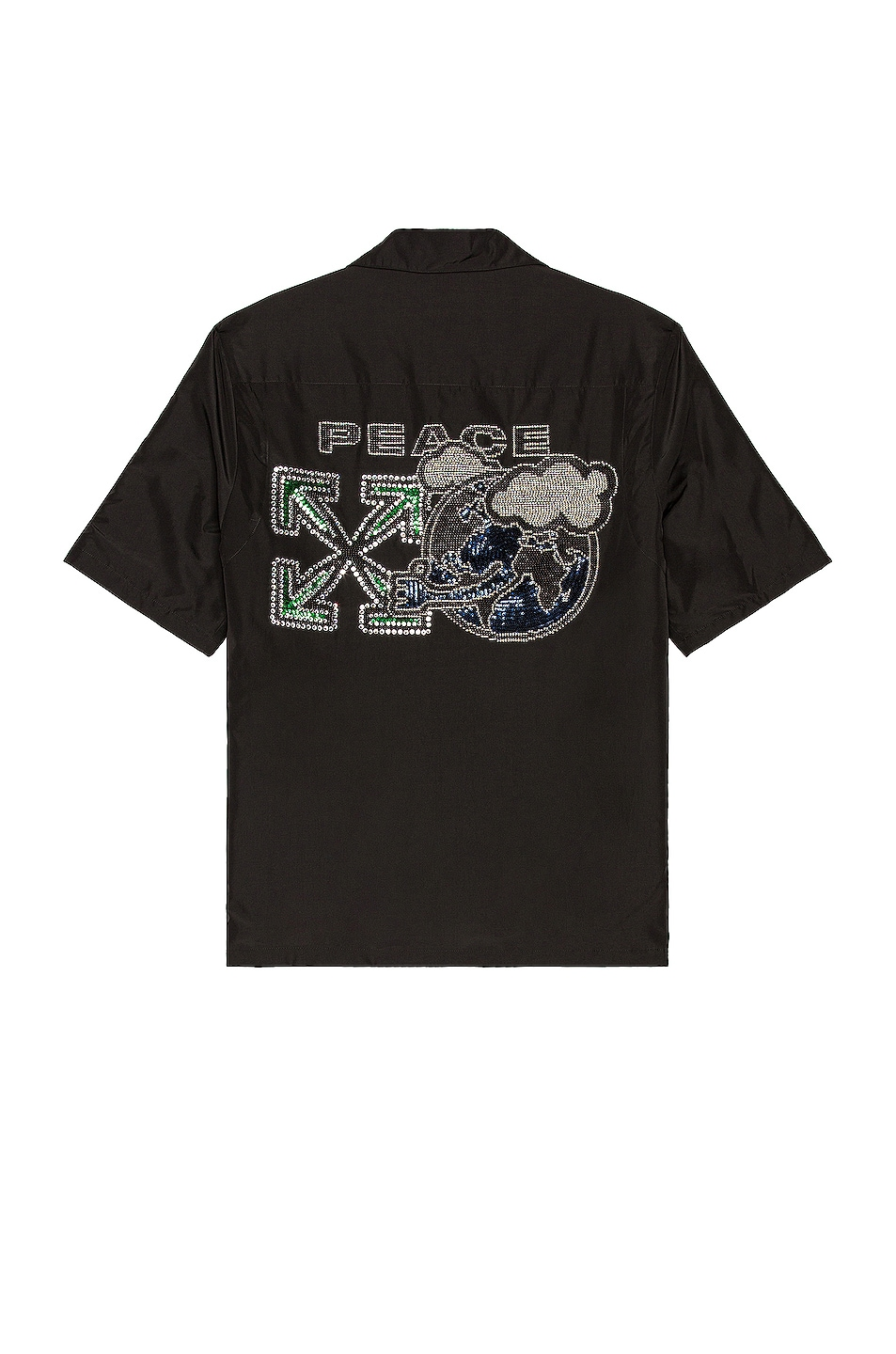 Image 1 of OFF-WHITE For The Nature Shirt in Black