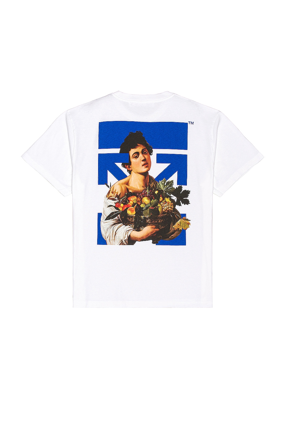 Image 1 of OFF-WHITE Caravaggio Boy Marker Over Tee in White