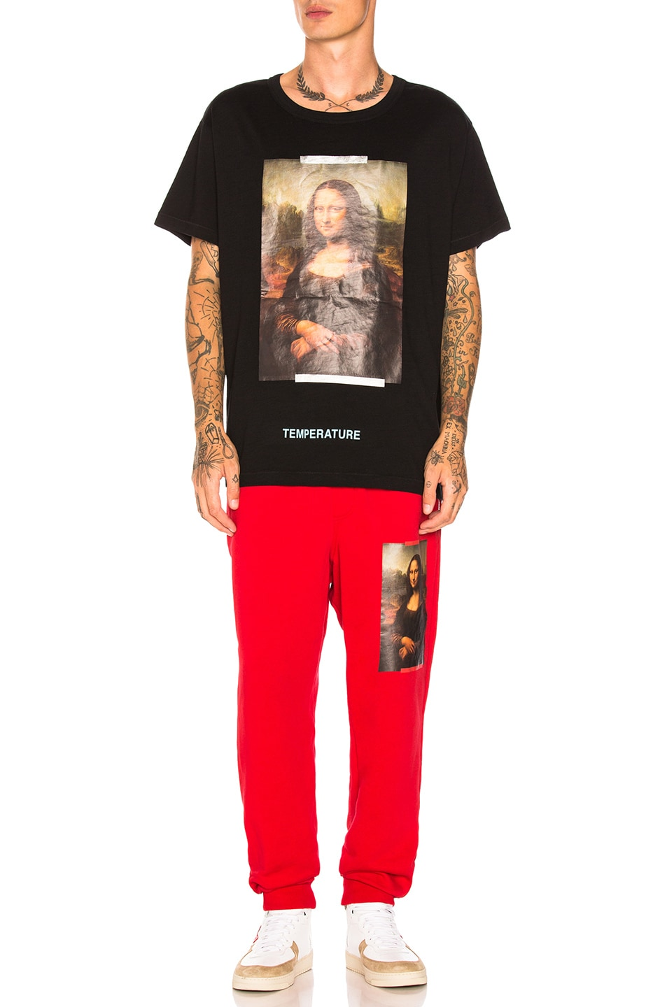 Image 4 of OFF-WHITE Monalisa Tee in Black