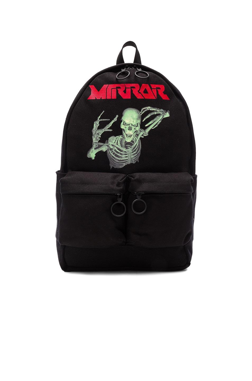 Image 1 of OFF-WHITE Skull Backpack in Black & Multicolor