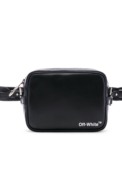 336378816 Image 1 of OFF-WHITE Crossbody Bag in Black & White