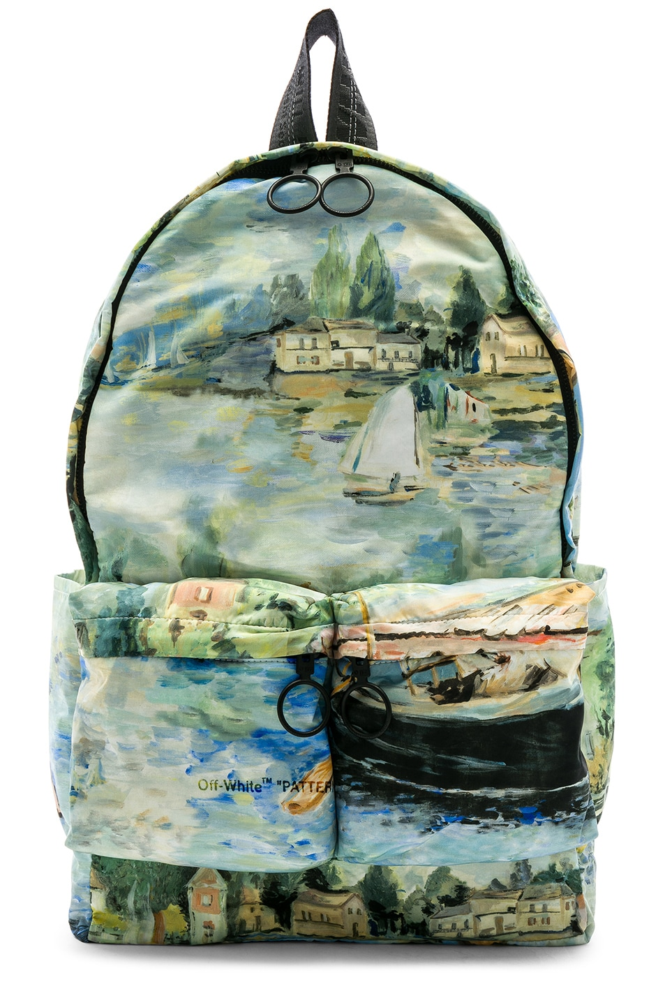 Image 1 of OFF-WHITE Lake Backpack in All Over Multi