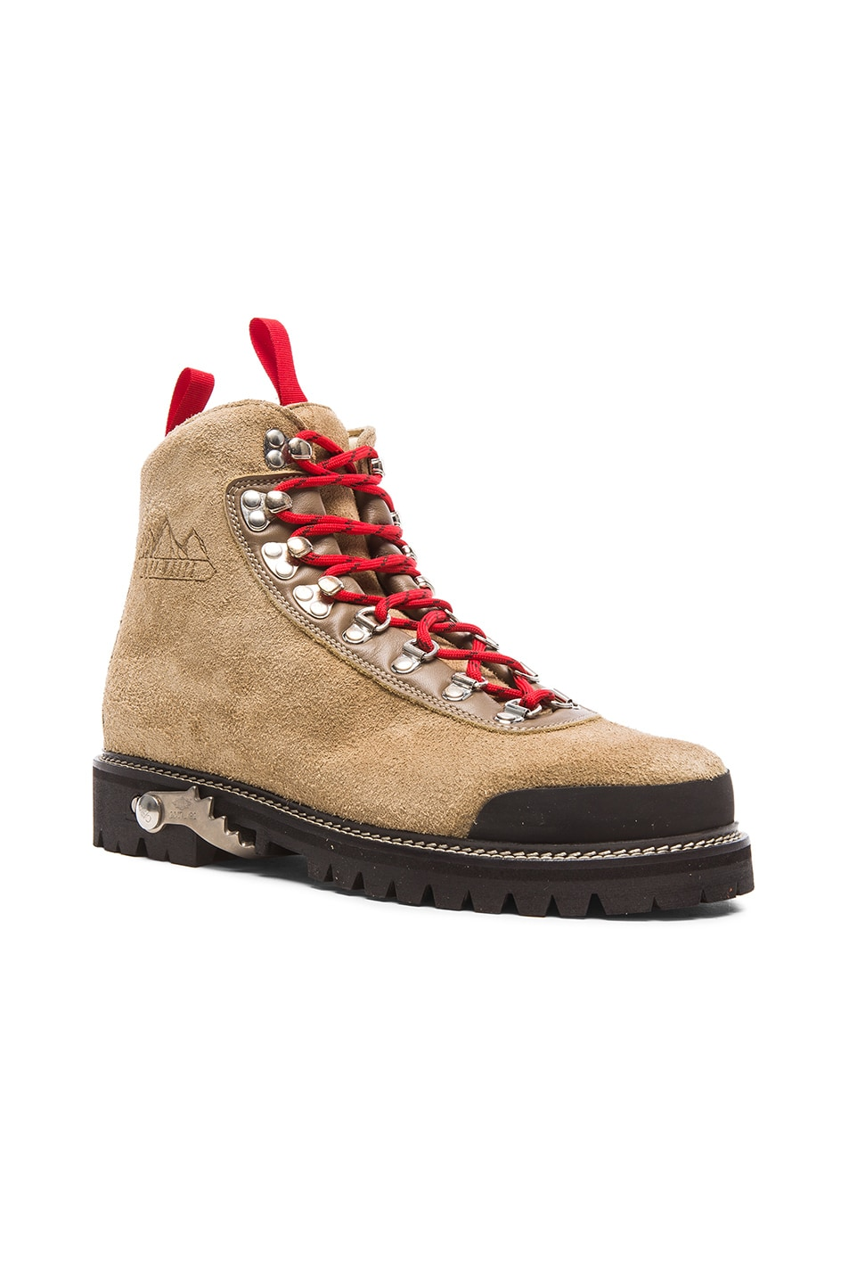 01388e3f7821a Image 1 of OFF-WHITE Suede Hiking Boots in Sand