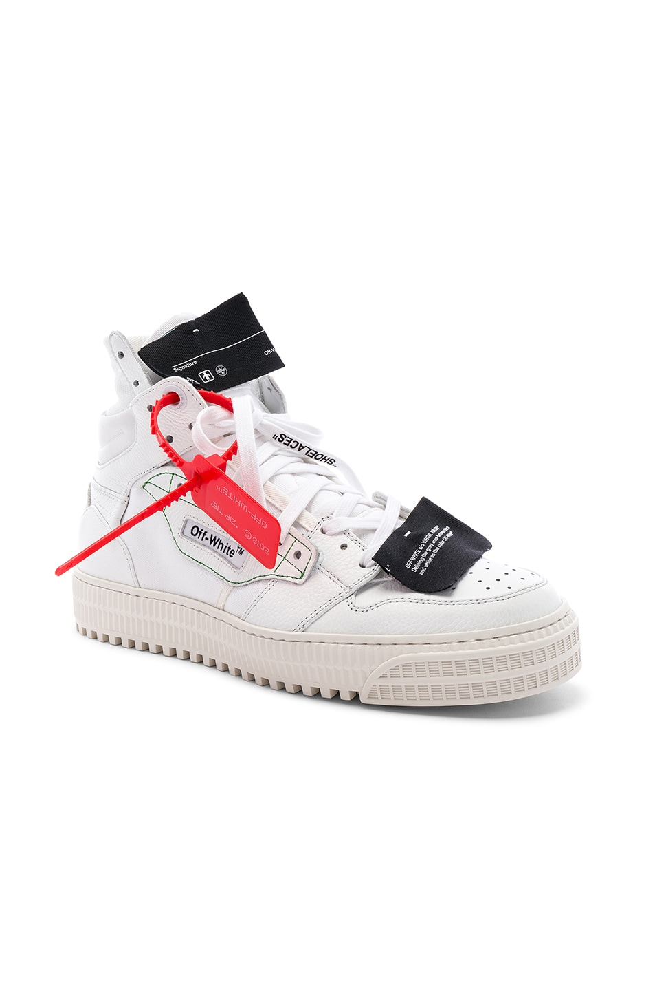 Image 1 of OFF-WHITE Off Court Sneaker in White