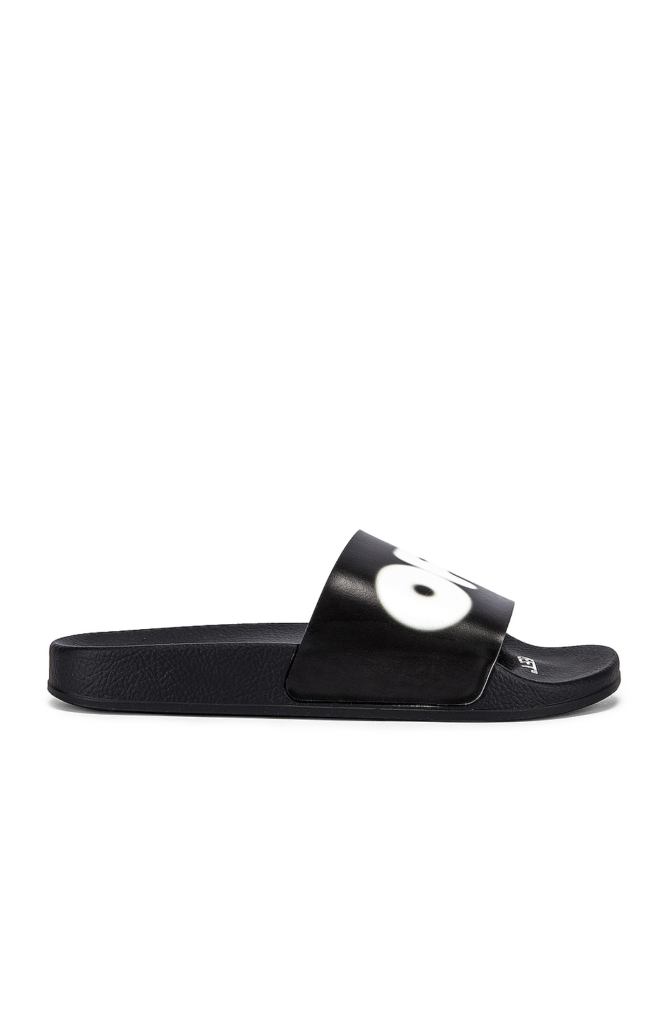 Image 2 of OFF-WHITE EXCLUSIVE Slides in Black