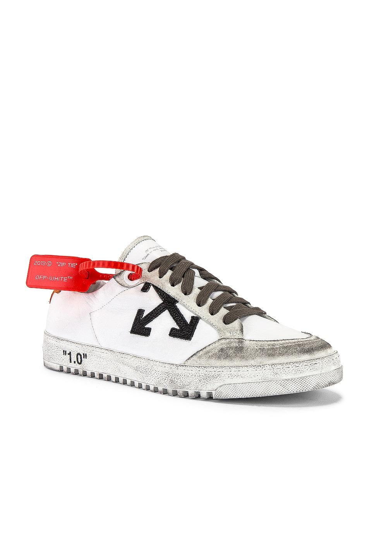 Image 1 of OFF-WHITE 2.0 Sneaker in White & Orange