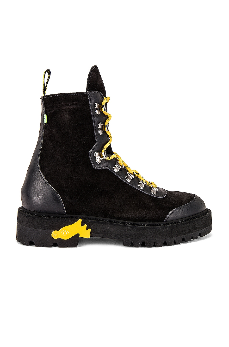 Image 2 of OFF-WHITE Hiking Boot in Black