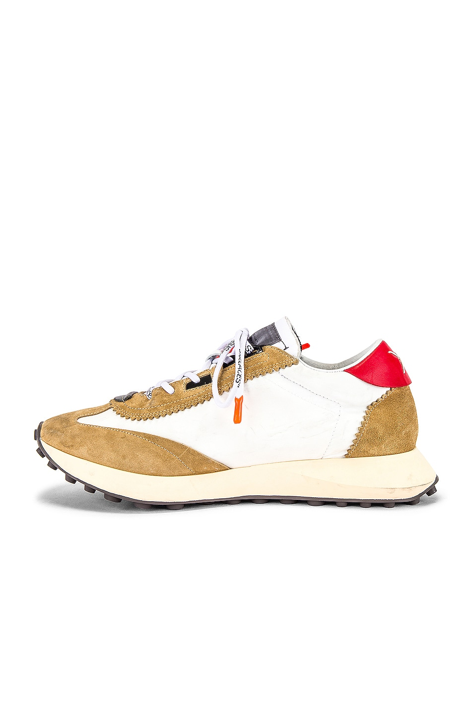 Image 5 of OFF-WHITE Running Sneakers in White & Blue