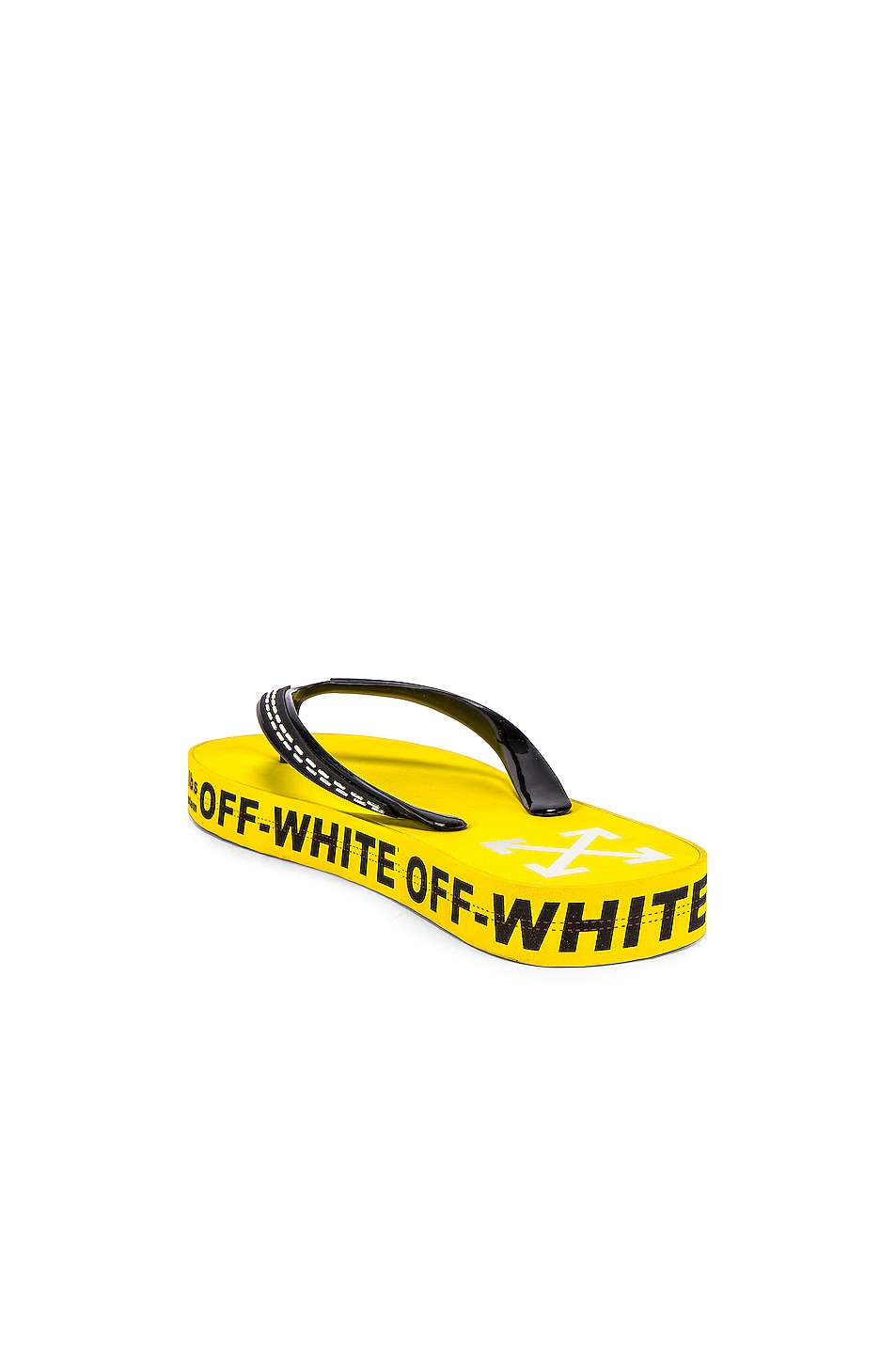 Image 3 of OFF-WHITE Flip Flop in Yellow