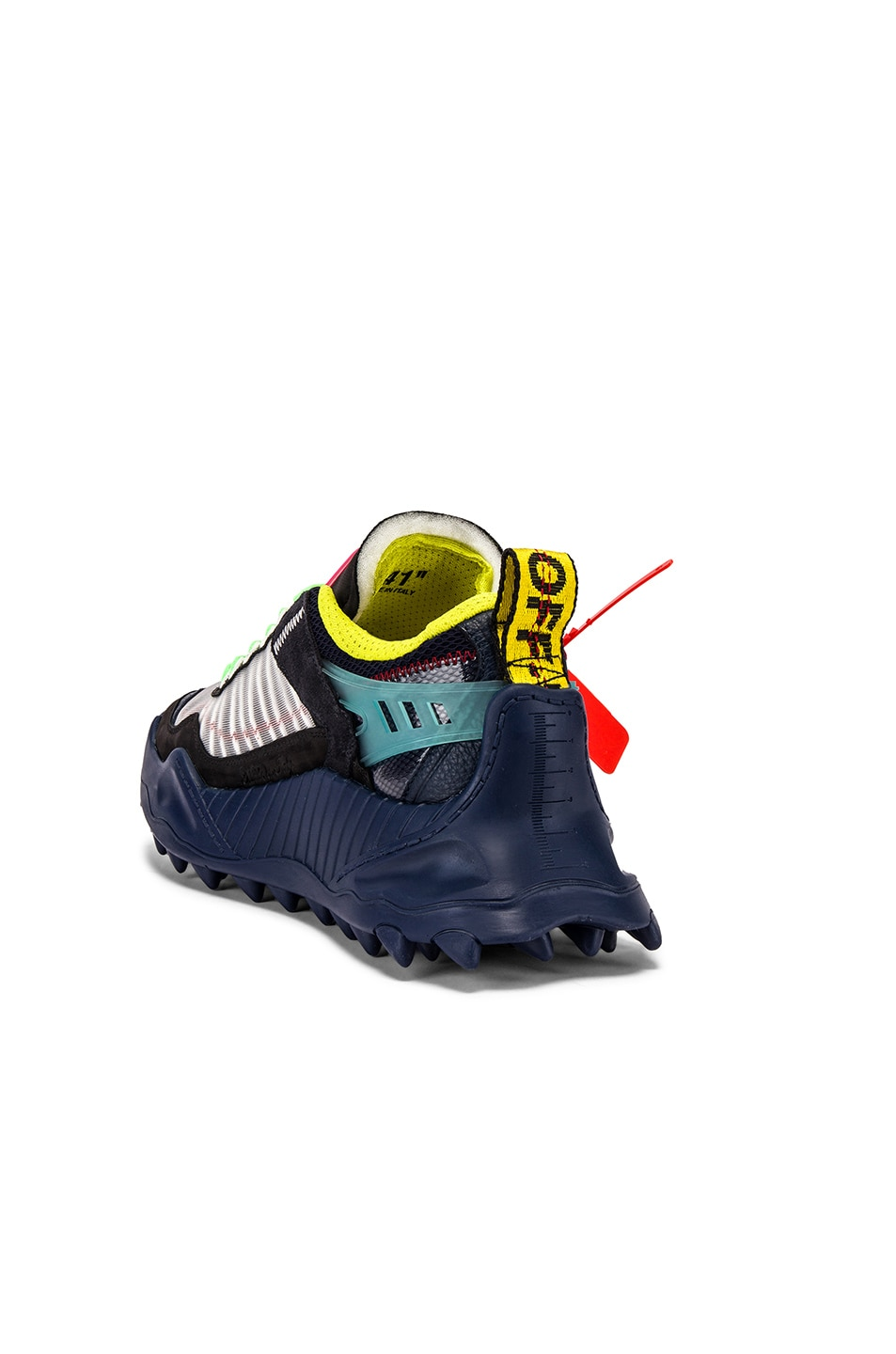 Image 3 of OFF-WHITE Odsy-1000 Sneaker in Blue & Red