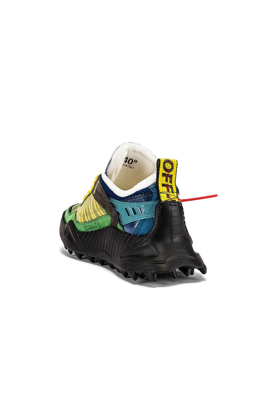 Image 3 of OFF-WHITE Odsy-1000 Sneaker in Dark Green & Black