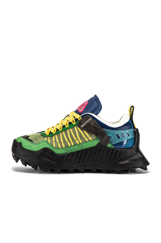 Image 5 of OFF-WHITE Odsy-1000 Sneaker in Dark Green & Black