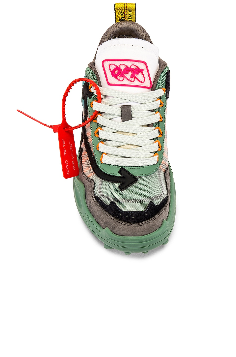 Image 4 of OFF-WHITE Odsy-1000 Sneaker in Baby Blue & Black