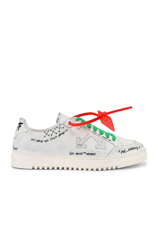 Image 2 of OFF-WHITE 2.0 Sneaker in White & White