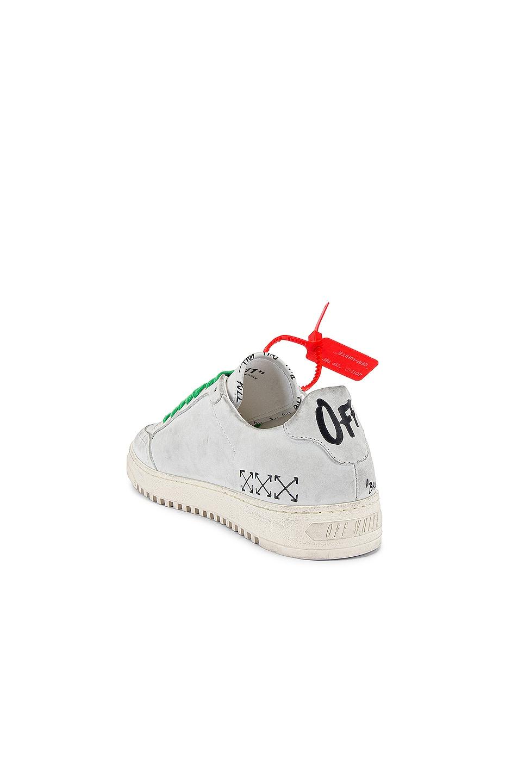 Image 3 of OFF-WHITE 2.0 Sneaker in White & White