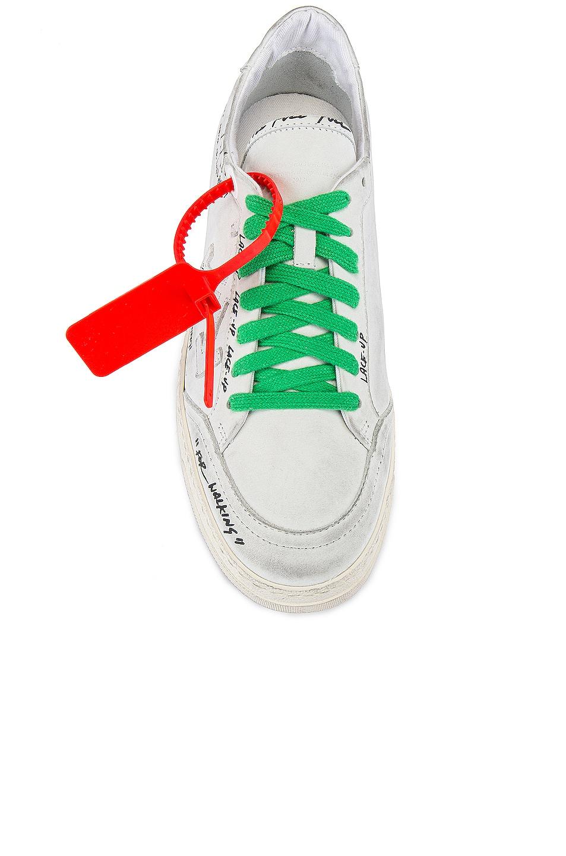 Image 4 of OFF-WHITE 2.0 Sneaker in White & White