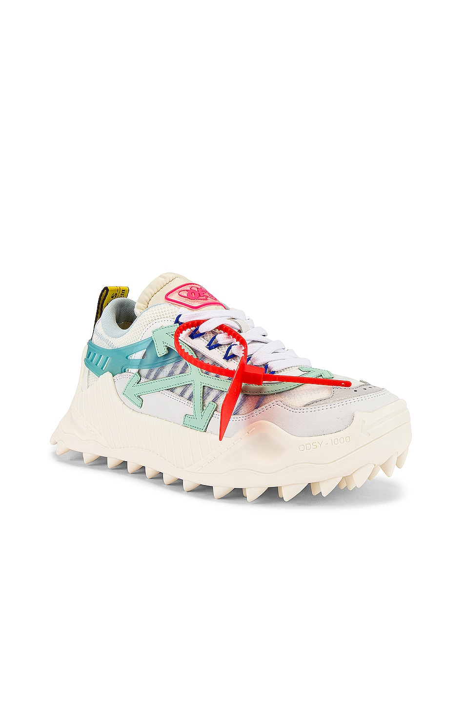 Image 1 of OFF-WHITE Odsy-1000 in White & Pale Blue
