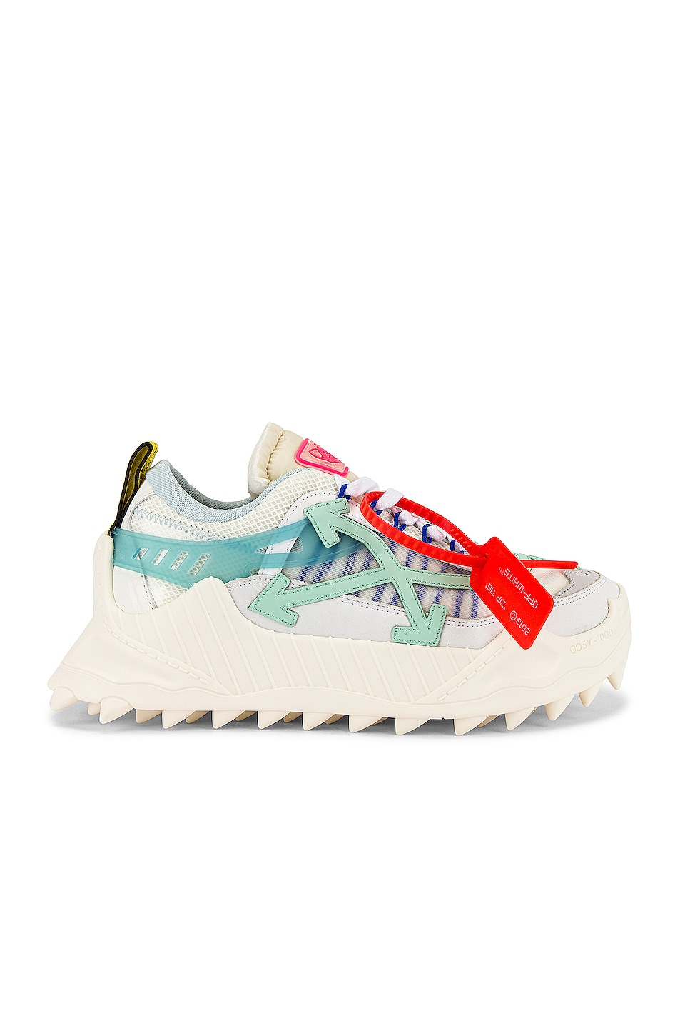 Image 2 of OFF-WHITE Odsy-1000 in White & Pale Blue