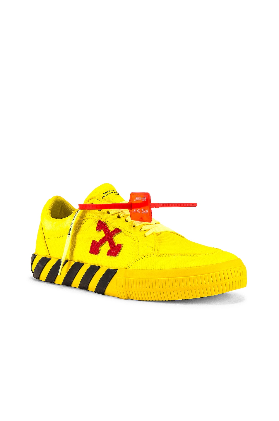 Image 1 of OFF-WHITE Low Vulcanized in Yellow & Red